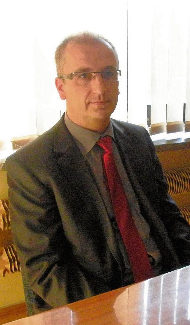 Prezes Witold Skrzypek