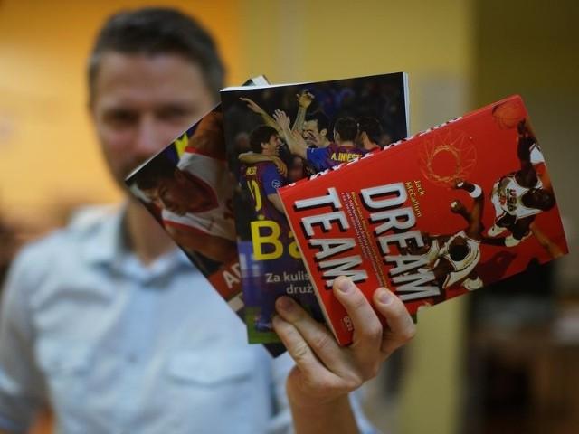 Do wygrania są już trzy książki dotyczące sportu.