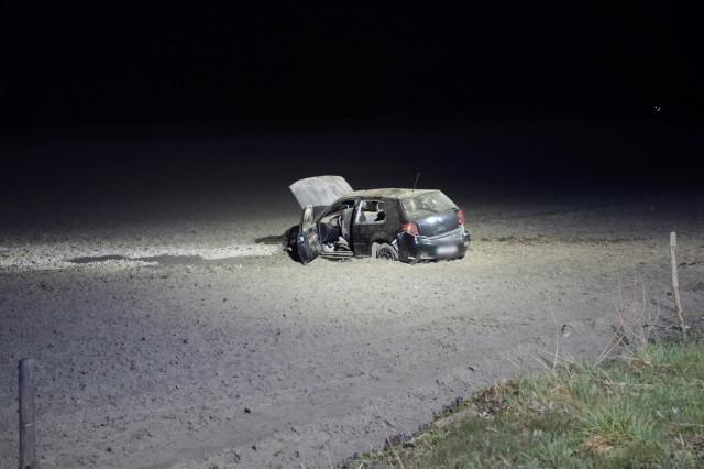 Wypadek pomiędzy miejscowościami Płocko - Pustowo