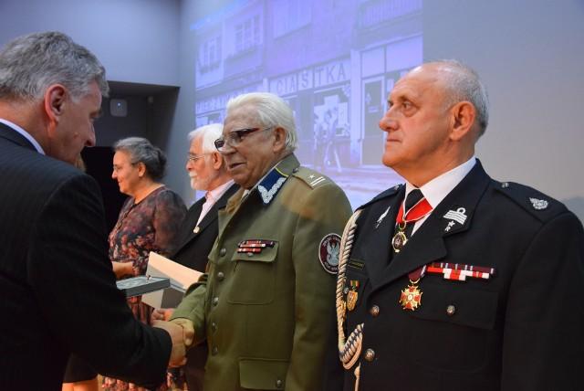 Zielona Góra, 20 maja 2019. Konferencja: Trzydziestolecie zmian ustrojowych w Polsce oraz wręczenie medali zasłużonym mieszkańcom województwa.