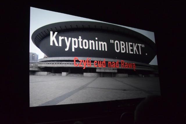 Kryptonim: Obiekt, czyli cud nad Rawą - film Wojciecha Wikarka. Premiera w kinie Kosmos w Katowicach