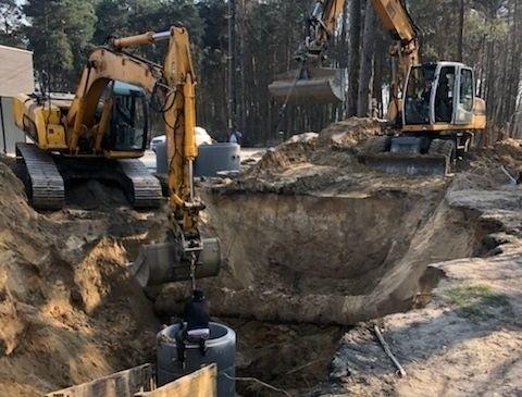 W Pionkach zakończyła się budowa nowej kanalizacji sanitarnej na ulicy Polnej.