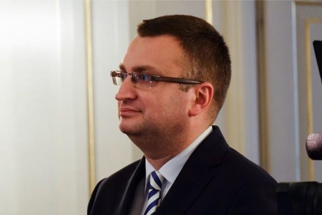 Rafał Rudnicki w dniu zaprzysiężenia na wiceprezydenta Białegostoku