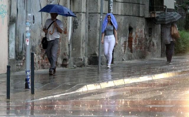 Upalny piątek może także przynieść opady i burze z gradem