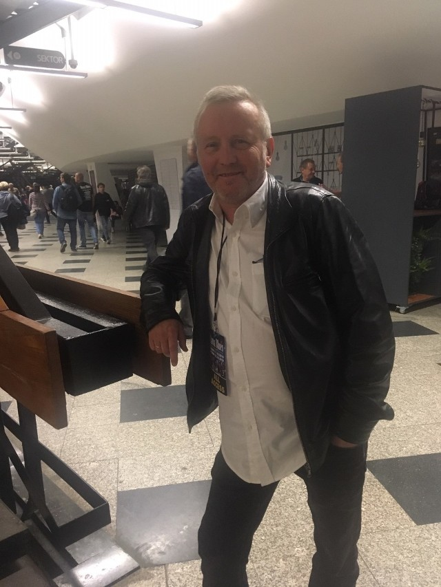 "Piotr Baron, dziennikarz radiowej ""Trójki"""