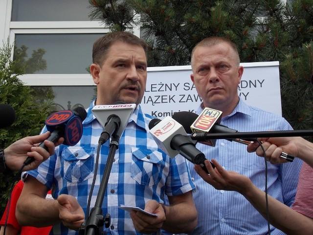 - W Gorzowie zapadły bardzo ważne decyzje. Nie przypominam sobie w ostatnich kilkunastu latach tak ważnych decyzji komisji krajowej Solidarności - mówił szef Solidarności Piotr Duda.