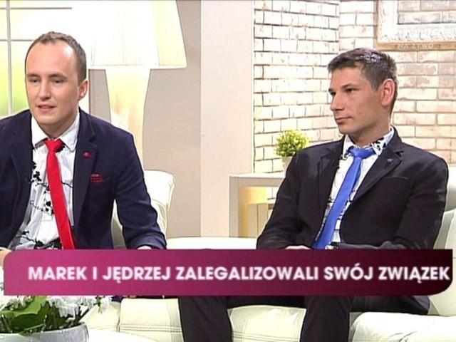 """Marek Idziak oraz Jędrzej Sępkowski - dwaj homoseksualiści zawarli pierwszy w Polsce """"ślub"""""""