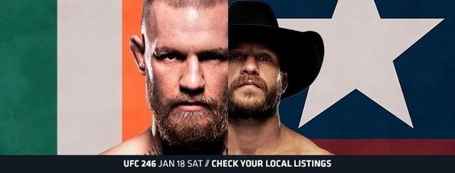 UFC 246. Conor McGregor vs Donald Cerrone.