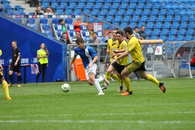 Piłkarze Lecha II Poznań i Polonii Środa w ostatnich sparingach przed sezonem są w dobrej formie strzeleckiej