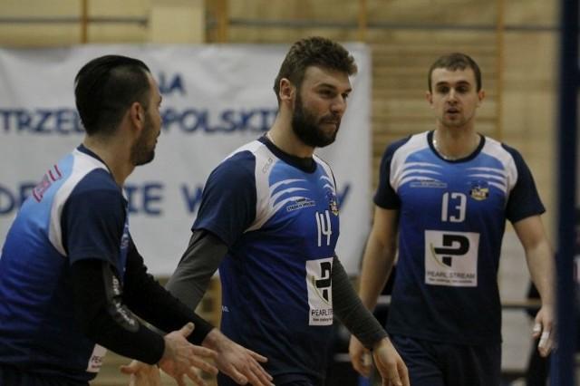 Kamil Łyczko, Michał Jankowski i Jakub Makar wiele razy okazywali radość po udanych akcjach
