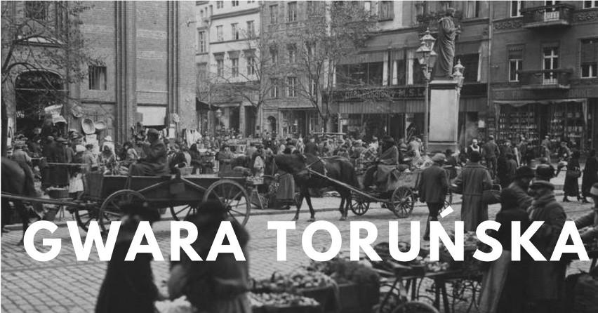 Gwara toruńska to język, który kształtował się na...