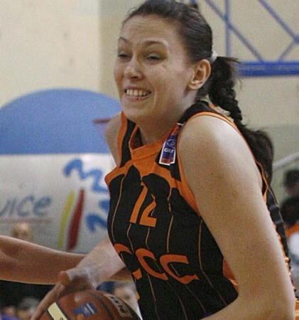 Marta Gajewska miała w Jeleniej Górze sporo okazji do gry. Swoją postawą, podobnie jak koleżanki, nie zawiodła.