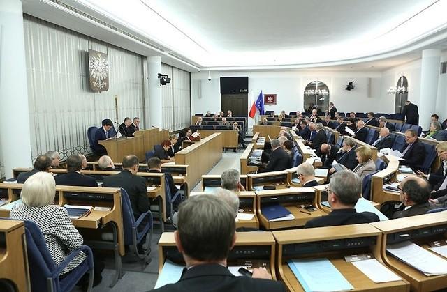 Posiedzenie Senatu RP - zdjęcie ilustracyjne