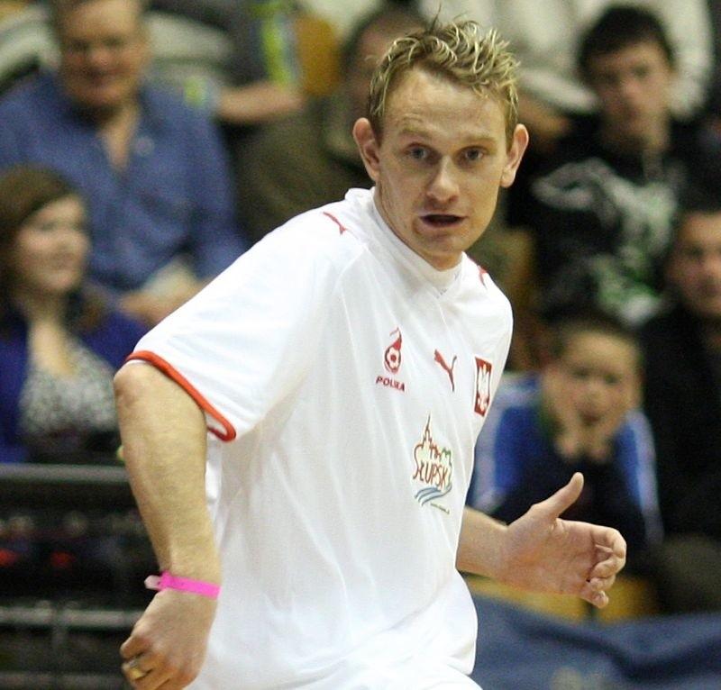 Sebastian Mila przyznał się, że pierwszy raz grał w Słupsku.