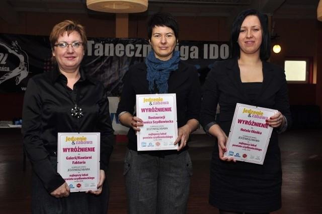 Laureaci z powiatu szydłowieckiego odebrali wyróżnienia podczas podsumowania plebiscytu.