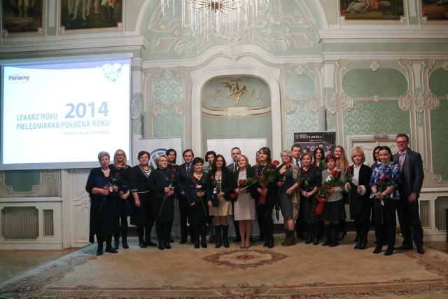 Laureaci i uczestnicy naszego tegorocznego plebiscytu podczas gali rozdania nagród w Auli Magna Pałacu Branickich. Wszystkim jeszcze raz gratulujemy!