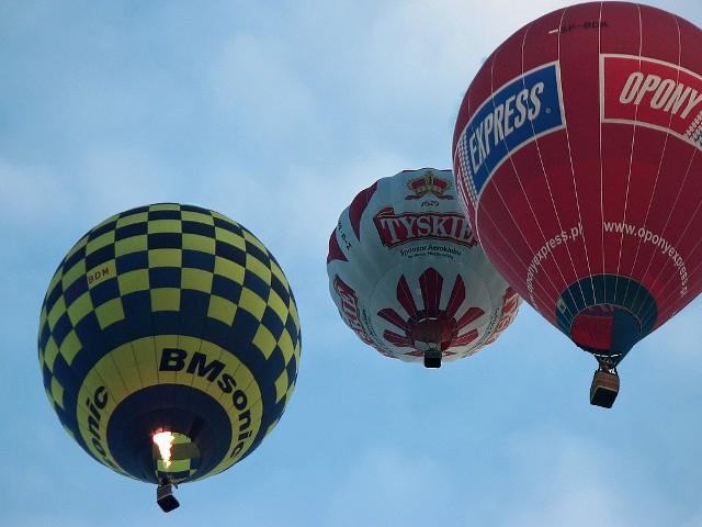 Pogoda umożliwiła rozegranie 10 kwietnia konkurencji, od godz. 18. Balony przeleciały nad Grudziądzem.