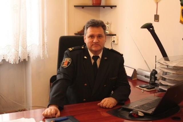 Zbigniew Kuleta, komendant łódzkiej straży miejskiej