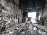 Pożar na terenie PKS w Zambrowie. W pomieszczeniach warsztatowych spłonął autobus [ZDJĘCIA]