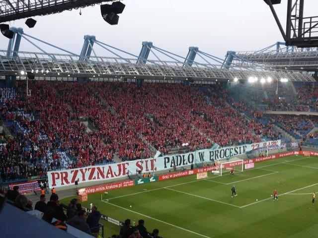 Derby Krakowa. Kibice Wisły