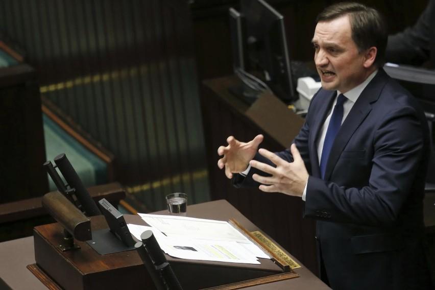 Zbigniew Ziobro w Senacie: Ustawa PiS zapobiega anarchii, sądokracji, bezprawiu