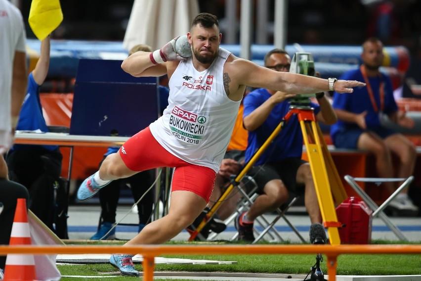Konrad Bukowiecki zdobył medal mimo kontuzji.