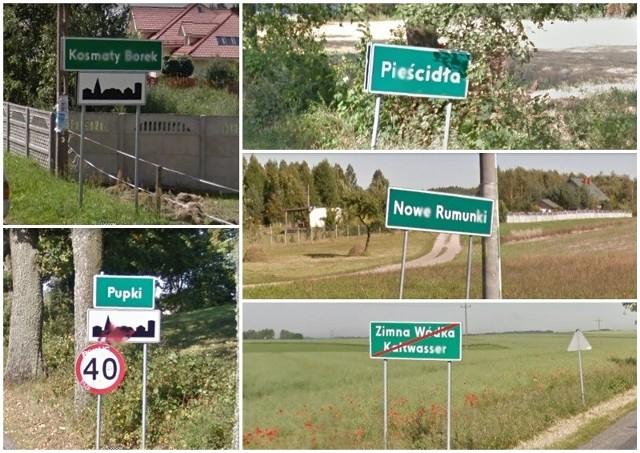 Pewnie nie raz przejeżdżając przez Polskę spotkaliście się z zabawnymi nazwami rodzimych miejscowości. My zebraliśmy dla Was te, które zdaniem internautów są najśmieszniejsze. Zobaczcie, co znaleźliśmy. Znajdziecie między innymi:  Irządze, Bałamutowo, Zimną Wódkę czy Cyców.