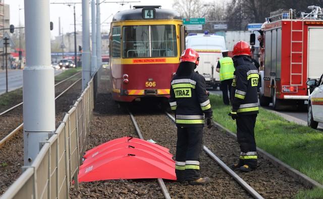 Śmiertelne potrącenie przez tramwaj w Łodzi. Dziecko zginęło w wypadku na Kopcińskiego w Łodzi CZYTAJ