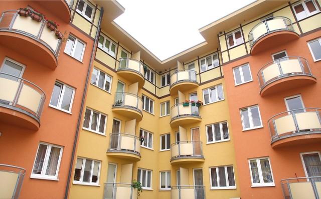 Budynki TBS-u przy ul. Dolnobrzeskiej na osiedlu Leśnica