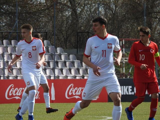 Mecz Polska - Turcja (U-16) na turnieju UEFA Development w Łomży