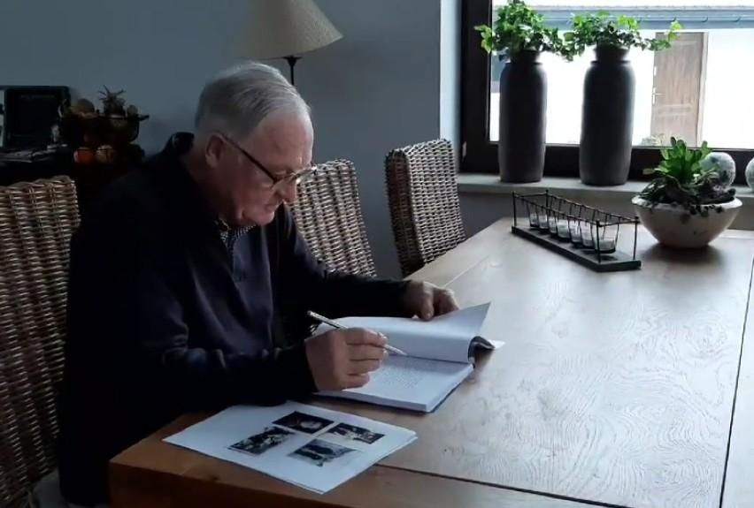 Gerard z Sanatorium Miłości napisze książkę.