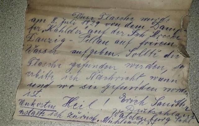 List napisany przez Ericha Sannitera szukał adresata przez 90 lat.