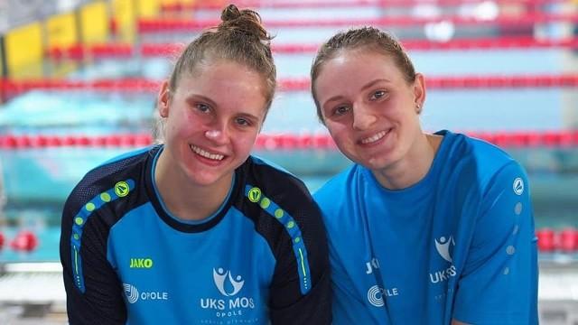 Marta Rakowska i Dominika Trentkiewicz (kolejno od lewej) wyróżniają się w swojej grupie wiekowej na arenie ogólnopolskiej.
