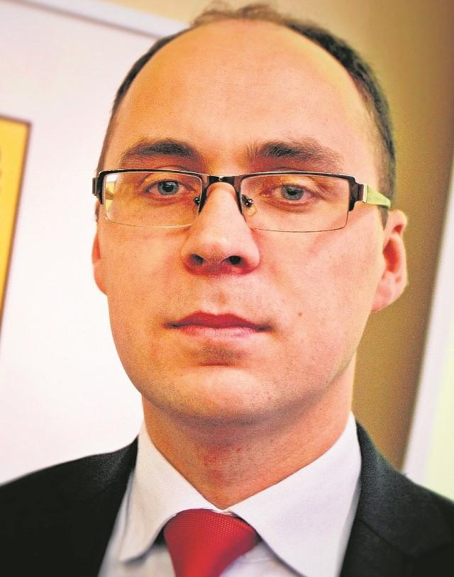 Prezes Zrzeszenia Kaszubsko-Pomorskiego Łukasz Grzędzicki