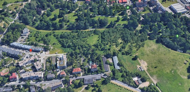 Tutaj ma powstać druga część parku Klecińskiego