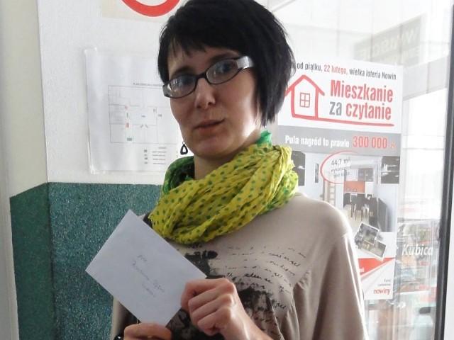 """Barbara Pępek z Rzeszowa zdobyła 1400 zł w pierwszym losowaniu loterii """"Mieszkanie za czytanie"""""""