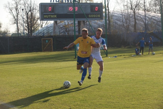 W rozegranym w Krakowie meczu rundy jesiennej Hutnik pokonał Motor 1:0