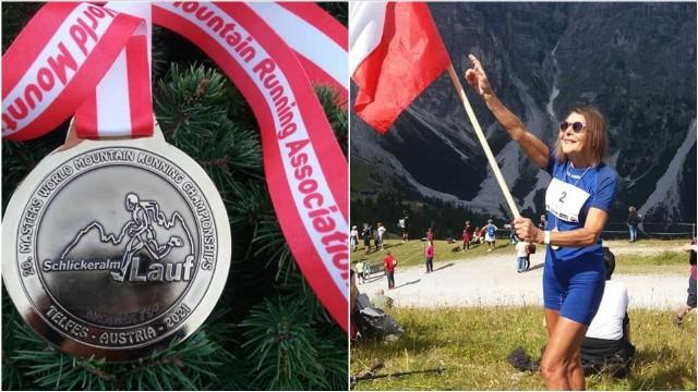 Najszybsza babcia świata znów triumfuje. 78-letnia Barbara Prymakowska z Tarnowa Mistrzynią Świata w biegach górskich