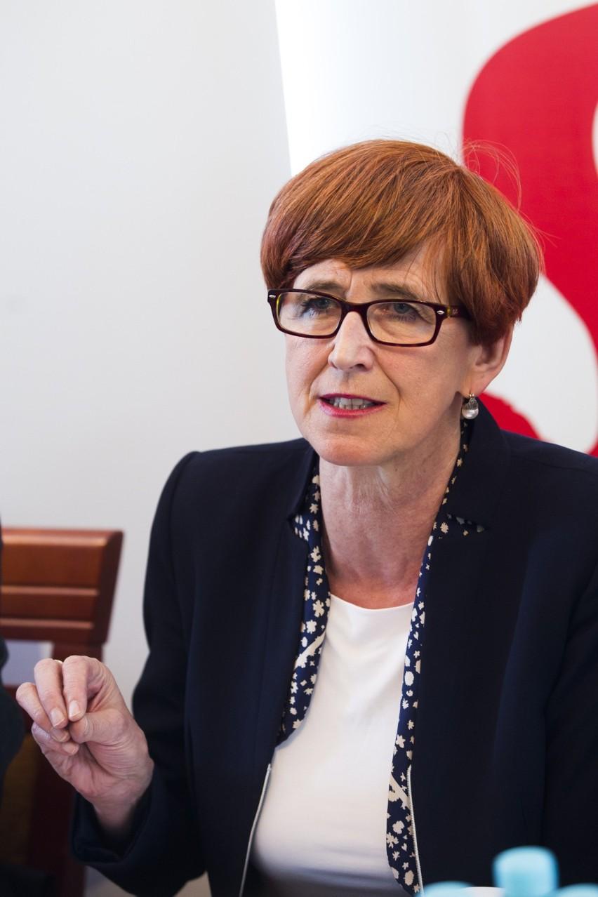 Minister Rafalska w Krakowie