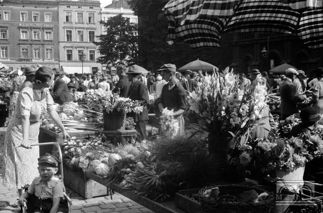 Na Rynku Staromiejskim 18 sierpnia 1939