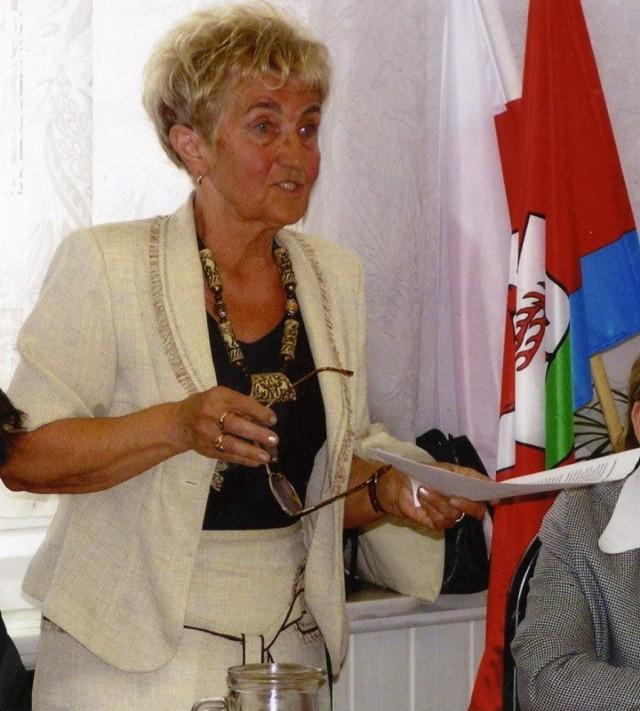 Antonina Kowalska-Korban zapaliła się do konkursu na Lubuskie Ciacho.