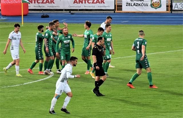 Kaliszanie wygrali 2:1 z Olimpią Grudziądz i pomogli też rezerwom Lecha Poznań