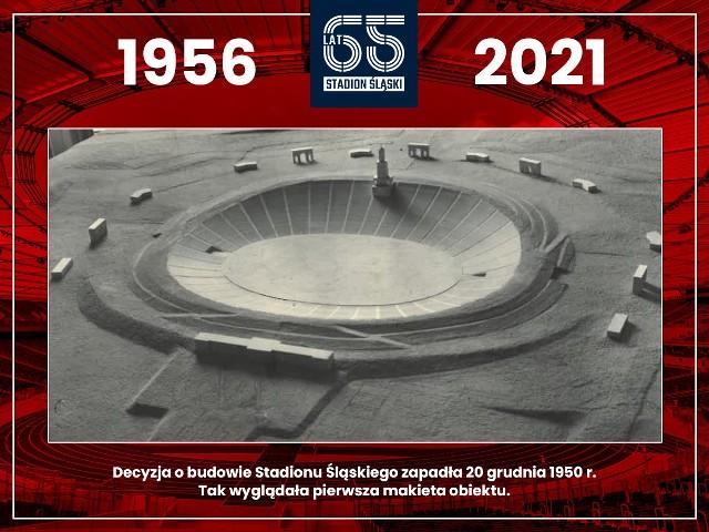 Stadion Śląski obchodzi 65-lecie powstania.   Zobacz kolejne zdjęcia. Przesuwaj zdjęcia w prawo - naciśnij strzałkę lub przycisk NASTĘPNE