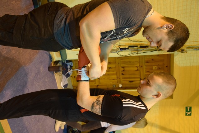 Kewin Gruchała (z prawej) trenuje w Chojnicach. - W okresie przygotowawczym treningi będą bardziej systematyczne