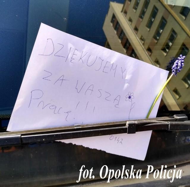 - To był miły gest - mówią policjanci z Opola.
