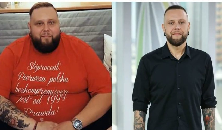 """Mateusz Borkowski, czyli """"Big Boy"""" z programu Gogglebox często chwali się na zdjęciach swoimi dokonaniami jeśli chodzi o efekty odchudzania, a trzeba przyznać że są porażające. Dawniej mężczyzna ważył 230 kg, a teraz - po operacji zmniejszenia żołądka - zupełnie nie przypomina siebie sprzed lat.ZDJĘCIA Z DZIEWCZYNĄ I WIĘCEJ INFORMACJI - KLIKNIJ DALEJ"""