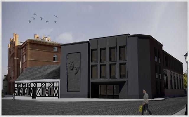 Tak ma wyglądać zrewitalizowany Teatr Kameralny w Bydgoszczy