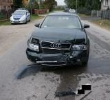 Pijany kierowca wyjechał na czołówkę. Chciał wyprzedzić ciągnik na łuku drogi