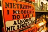 Ile w Łodzi jest sklepów z alkoholem? W której dzielnicy jest ich najwięcej?