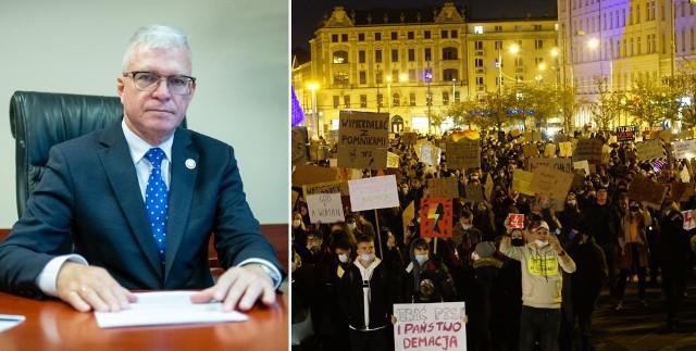 Robert Gaweł, wielkopolski kurator oświaty zaapelował do dyrektorów szkół, by nie angażowali się w protesty przeciwko zakazowi aborcji. Przypomniał również o przestrzeganiu etyki zawodowej.